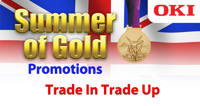 OKI Trade-In Trade Up Promotion